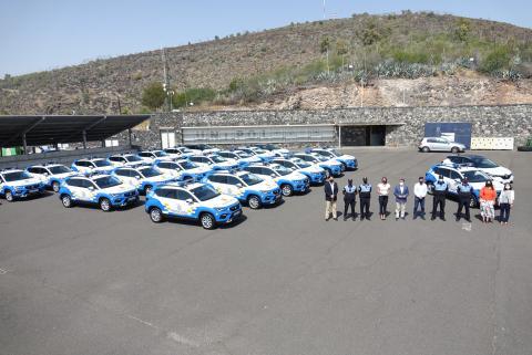 Presentación de los nuevos vehículos para la Policía Local de Santa Cruz de Tenerife / CanariasNoticias.es