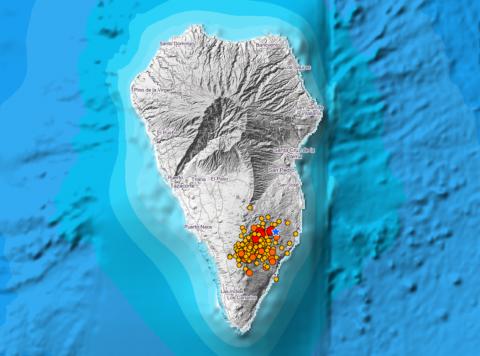 Sismos en La Palma