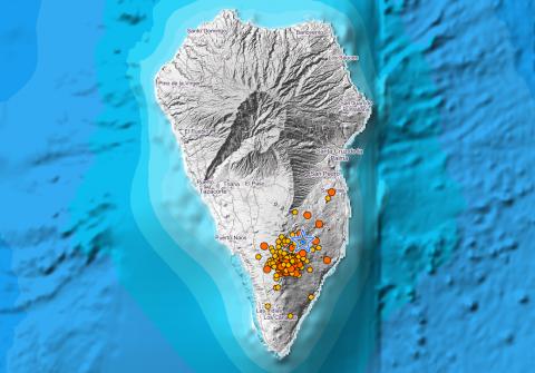 Enjambre sísmico en La Palma