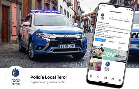 La Policía Local de Teror se incorpora a las redes sociales