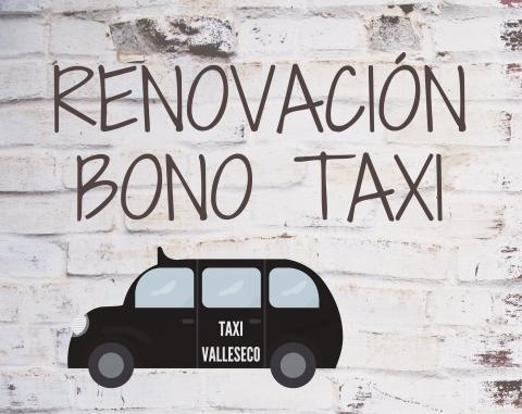 Renovación del Bono Taxi de Valleseco (Gran Canaria)