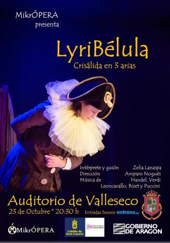 LyriBélula, crisálida en tres arias. Valleseco/ canariasnoticias