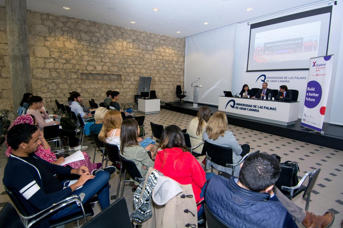 Inauguracion Del Programa Explorer Jovenes Con Ideas Para El